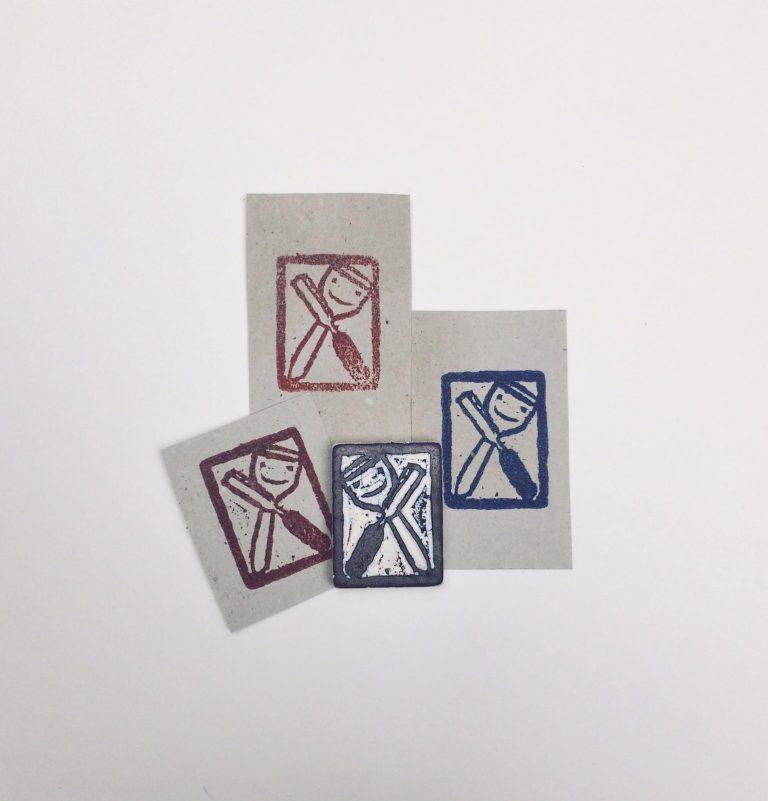 Individuelle Drucke und Stempel von Klüpfel und Eisen