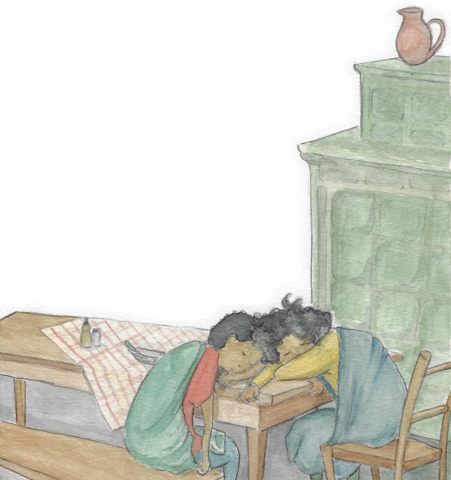 Kinderbuchillustration Hannah - werkstatt eden illustration