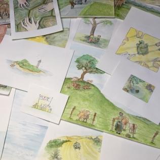 Werkstatt Eden Illustration Geheimnisgeschichten Band 4 Kinderbuch illustration