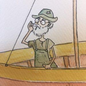 Fischermann Illustration