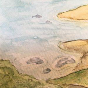 Ufer einer Insel