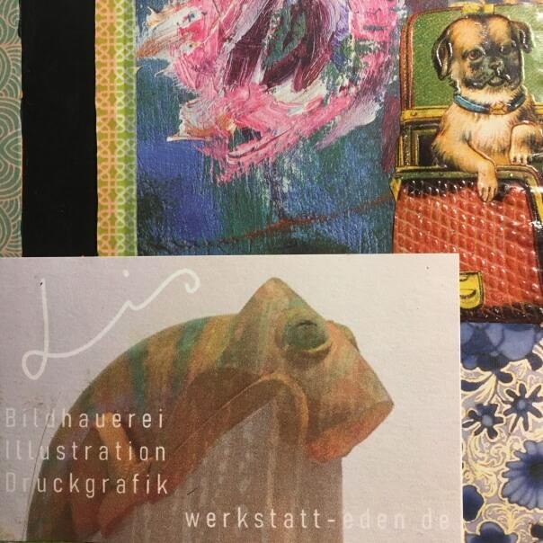 Skizzenbuch - Illustrationen im Quadrat - Beitragsbild