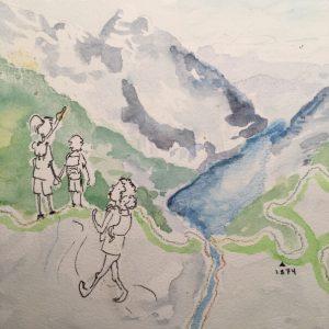 Wandern am Königsee