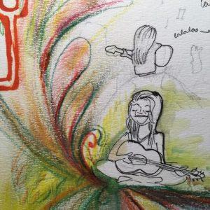 Jenny und ihre Gitarre