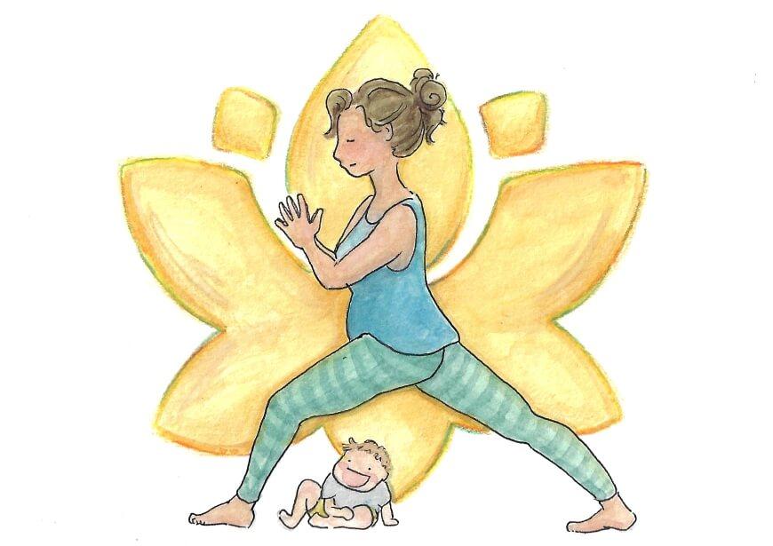 Yoga Rückbildung nach der Schwangerschaft