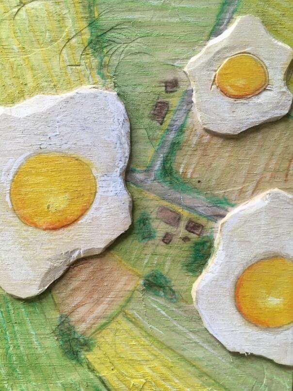 Spiegeleierufos Eggsens